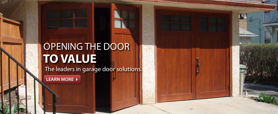 Residential Garage Doors From GEIS In Milwaukee