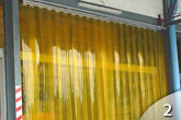 Pvc Strip Curtains Geis Garage Doors Milwaukee