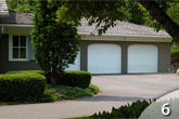 Fiberglass Face Garage Door from GEIS in Milwaukee