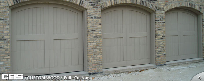 GEIS Garage Doors - Custom Wood - Full Custom