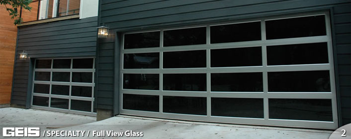 Full View Glass Residential Geis Garage Doors