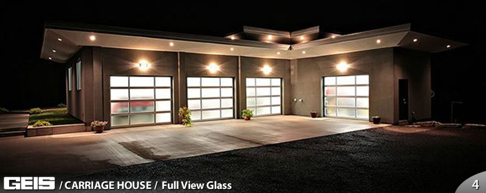 GEIS Garage Doors - Specialty - Full View Glass