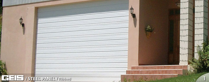 Ribbed Steel Panel Garage Door from GEIS in Milwaukee