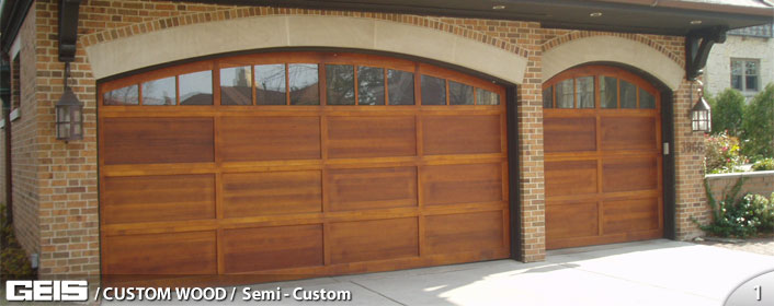 Semi Custom Custom Wood Geis Garage Doors Milwaukee