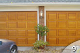 Custom Wood Garage Door from GEIS in Milwaukee