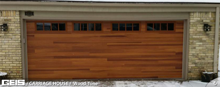 Carriage House Garage Door from GEIS in Milwaukee