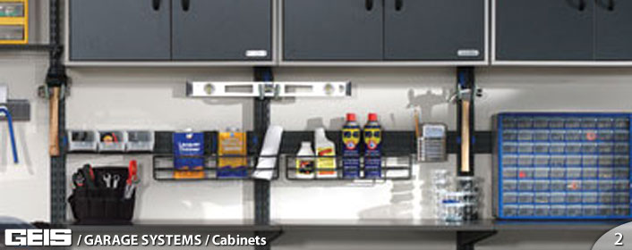 Garage Systems - Cabinet Shelving from GEIS in Milwaukeee