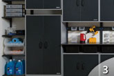 Garage Systems - Cabinet Shelvingg from GEIS in Milwaukee